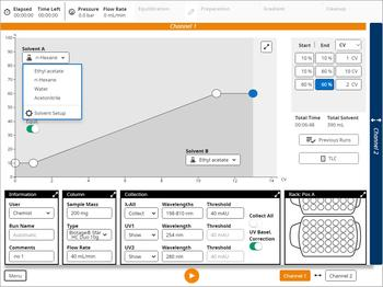 Easy to use and intuitive single-screen software, powerful and flexible