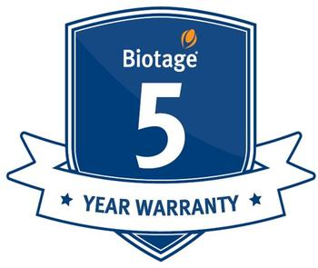 A five year warranty guarantees uptime and ensures peace of mind