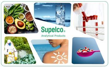 Supelco® Referenzmaterialien unterstützen unter anderem Pharma-, klinische / forensische, Lebensmittel- & Getränke-, Umwelt- und Industrieanwendungen