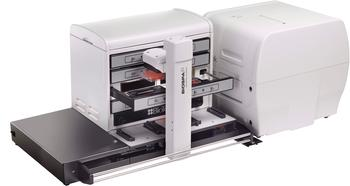 In Kombination mit dem vollautomatisierten Inkubator BioSpa 8 bietet der Cytation 7 eine Automatisierung von Assay-Abläufen für bis zu acht Mikroplatten.