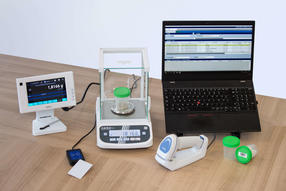 iControl is a smart solution for simple and fast bidirectional connection of simple laboratory instruments such as scales or pH meters to the LIMS