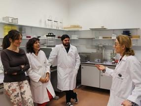 The researcher team at the University of Cordoba