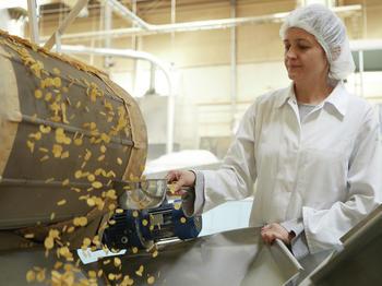 Testproduktion in der Forschungs- und Entwicklungsabteilung von OBST.