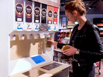 Nestlé Schweiz testet Verkauf ohne Verpackung