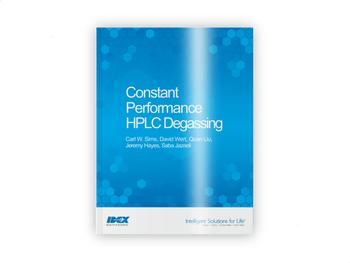 Constant Performance HPLC Degassing