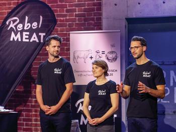 Gründer Team von Rebel Meat bei 2 Minuten 2 Millionen