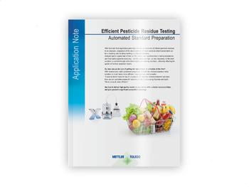 Application Note - Efficient Pesticide Residue Testing