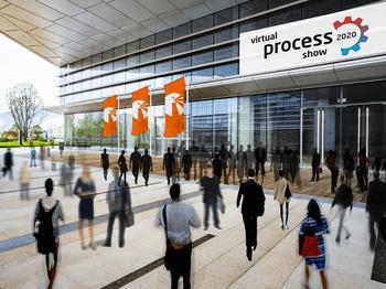 Vom 8. bis 11. September 2020 treffen sich Aussteller und Anwender der Prozess- und Produktionsindustrie auf der virtual process show.