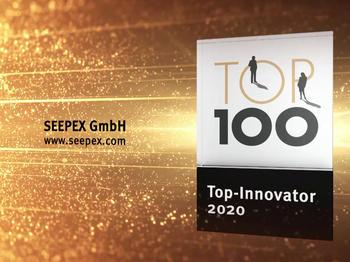 Seepex: Bottroper Pumpenspezialist trägt jetzt das TOP 100 Siegel für vorbildliches Innovationsmanagement.