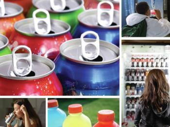Makers of sugary drinks continue to direct large amounts of advertising toward children, teens, and communities of color, according to UConn's Rudd Center.