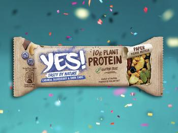 Kraftvoll, knackig, einzigartig: Neue Proteinriegel von YES! aus Erbseneiweiß und Nüssen