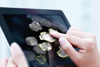 iC Vision software on a tablet computer