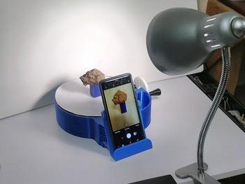 Telefon-Einrichtung im Labor