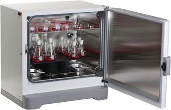 CO2 incubator shaker with 120 °C disinfection