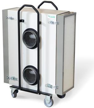 Luftreiniger CC 2000: in mobiler, bodenstehender, wand- oder deckenmontierter Ausführung.