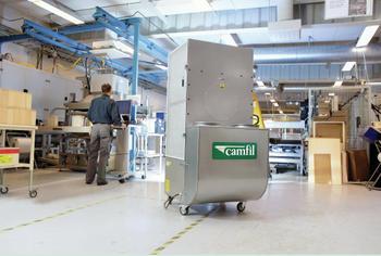Industrieelle Luftreiniger   CC 2000 und CC 6000