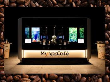 Am Samstag, 15. August eröffnet MyAppCafé eine Roboter-Kaffeebar in den Mercaden Böblingen.