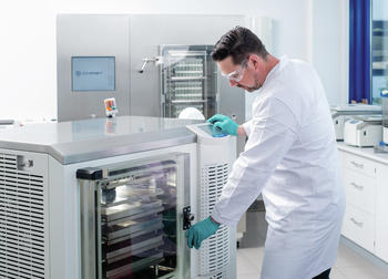 Epsilon pilot freeze drying systems