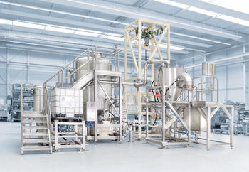 YSTRAL process system for the paint and coatings industry