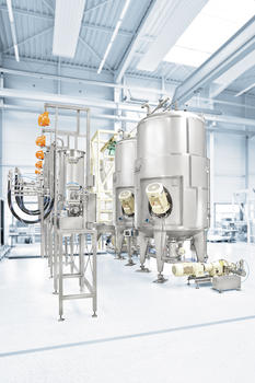 YSTRAL process system for the chemistry industry