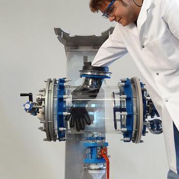 Nutsche filters 10 - 300 liter
