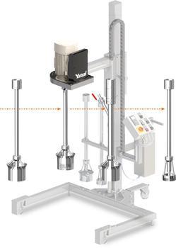 YSTRAL Multipurpose mit verschiedenen Mischaufsätzen