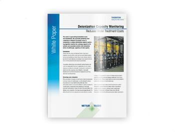 Deionization Capacity Monitoring