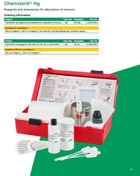 Chemizorb® Hg-Kit