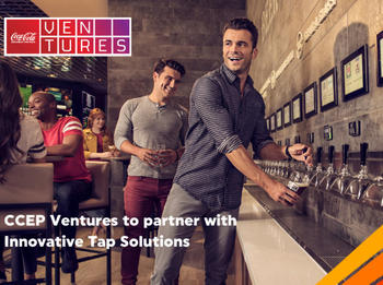 CCEP Ventures to partner with Innovative Tap Solutions