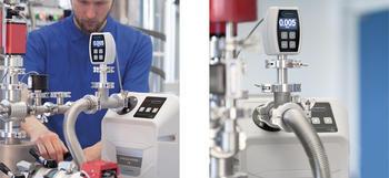 Variante de producto para procesos no corrosivos VACUU·PURE® 10: Libre de aceite y abrasión como bomba de prevacío para bombas turbomoleculares