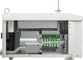 Mehrstufiger Wälzkolben-Mechanismus - Kontaktfreie Rotation mit hoher Drehzahl
