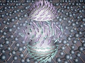Nanowirbel mit besonderer Eigenschaft