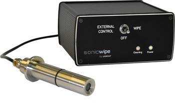 Ultraschall-Reinigungsarmatur für in-line Sonden in IP65 und 1.4404 Stahlvariante