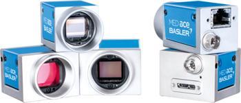 MED ace Kameraserie: mit 2.3 MP bis 20 MP Auflösung, als Farb- oder Monochromkamera, mit USB 3.0- oder GigE-Schnittstelle