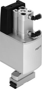 EHMD mit pneumatischem Greifer und 2x 5mm Greiferhub