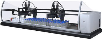 SP2000 laboratory robot for BOD with pH adjustment