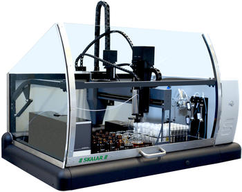 SP2000 beer robot for the automation of bitterness, free amino acids, anthocyanogens, SO2, polyphenols and the thiobarbituric acid