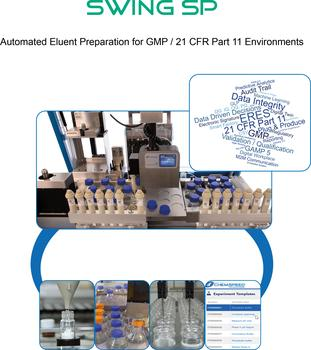 Automated Eluent Preparation for GMP / 21 CFR Part 11 Environments