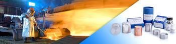 Referenzmaterialien aus dem Bereich Metall (SUS, ECRM, BAS, MBH, Brammer standards, CKD, CTIF, BCR, BAM)