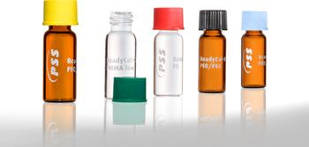 High quality reference materials in 1.5 mL autosampler vials