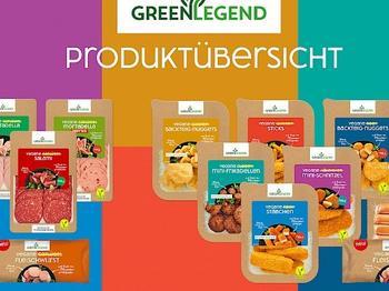 """PHW-Gruppe führt neue plant-based Food-Marke ein: """"Green Legend"""" ist die pflanzliche Antwort auf Fleisch"""