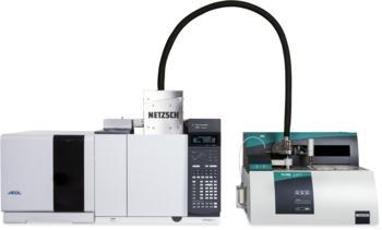 TGA/STA-GC-MS coupling