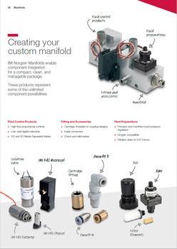 Integrated acrylic manifold for POC diagnostics