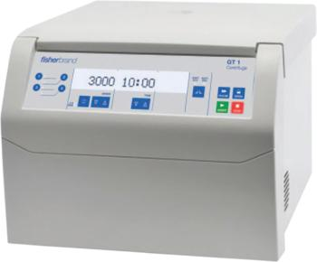 Fisherbrand GT1 benchtop centrifuges combine a compact size with operational flexibility, the ideal choice for molecular biology laboratories.