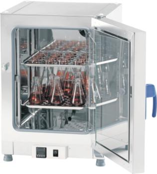 Fisherbrand gravity convection microbiological incubators, maximum temperature 75ºC, digital control and inner glass door for minimal disturbance.