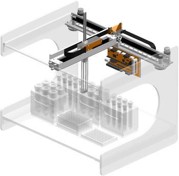 T-Move Sampler - Skalierbares Auslegerachsportal, schnell und präzise für höchste Ansprüche