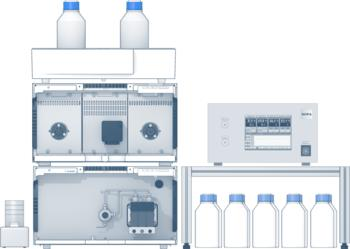 RNA Purifier: HPLC system for the purifications at elevated temperatures.