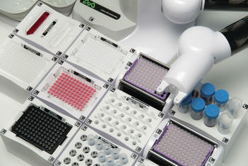 Highly adaptable workspace using machine readable Domino consumable holders