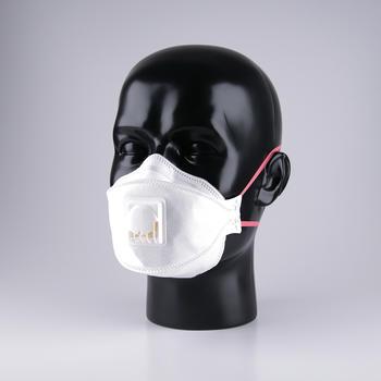 Prototyp einer Maske zum apparatefreien Nachweis von Analyten in der Atemluft