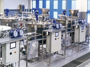 Bioreaktoranalge BTP 1000 - Technikumsanlage